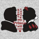 Snow White and Prince Charming silhouette by sweetsisters
