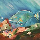 Blue Fish by Anita Wann