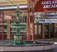 Rundle Mall - Fountain and Historic Arcade by DPalmer