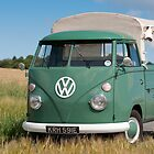 Velvet Green 1967 VW Single Cab by Paul Peeters