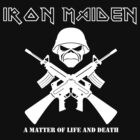 Iron Maiden - A Matter of Life and Death  by EP-777