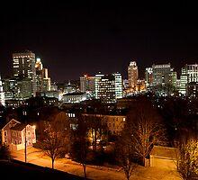 A Dark Cityscape Providence by TOJDesignStudio