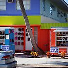 Colorful Beach Shop  by Scott Dovey