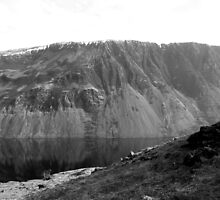 The Screes, Wast Water. Lake District National Park. by Lou Wilson