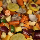 Roasted Veggies  by Ren Provo