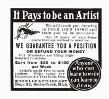 It pays to be a artist! by CircaWhat
