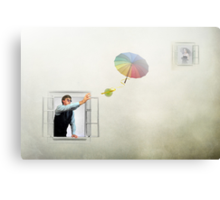 Airmail Canvas Print