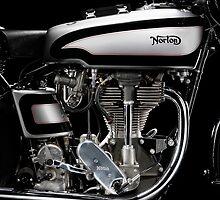 Norton Manx Engine by Frank Kletschkus