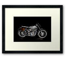 Norton Manx Framed Print