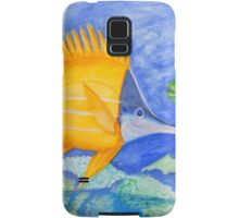 yellow and parrott fish. ipad. iphone Samsung Galaxy Case/Skin
