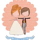Just married - bride and groom! by stamptout