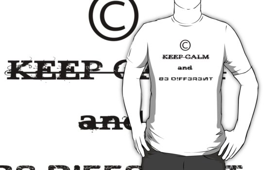 Keep Calm And BE DIFFERENT! by Denis Marsili