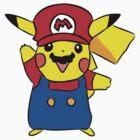 Super Pikachu by Chloe Grech