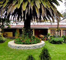 Joe's Secret Garden, Cuenca, Ecuador by Al Bourassa