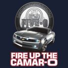 Hawaii Five-O: FIRE UP THE CAMAR-O! (White) by Sharknose