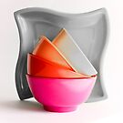 Pink Bowl (Selective Coloring) by Anaa