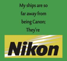 My Ships aren't Canon! by Jessica Latham