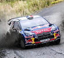 Sebastien Loeb WRC Rally GB by Danny Thomas
