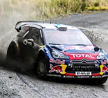 Mikko Hirvonen WRC Rally GB by Danny Thomas