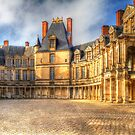 Fontainebleu Palace by Robyn Carter