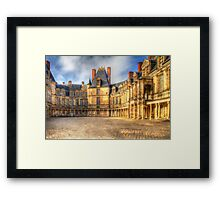 Fontainebleu Palace Framed Print