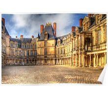 Fontainebleu Palace Poster