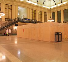 NJ Transit Waiting Room Hoboken Being Repaired From Sandy-damage ! by pmarella