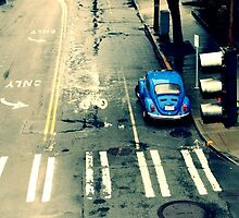 Blue Punch Buggy by Natalie Aitken