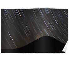 The stars wheel over Mt. Doom Poster