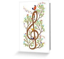 Song Birds Greeting Card