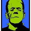 FRANKENSTEIN'S MONSTER-4 by OTIS PORRITT