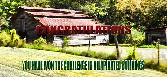 Dilapidated Building Banner by Charldia