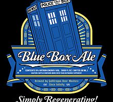 Blue Box Ale by TeeNinja