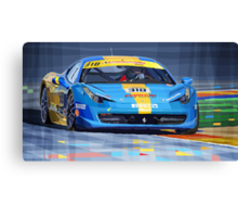 Ferrari 458 Challenge Team Ukraine 2012 Canvas Print