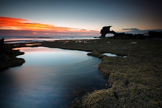 Behind the Sierra - Portsea, Victoria, Australia. by Sean Farrow