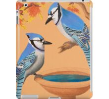 Blue Jays In Fall iPad Case/Skin