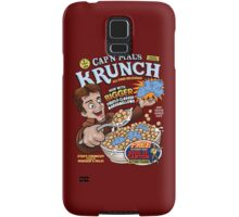 Captain Mal's Krunch Cereal Samsung Galaxy Case/Skin