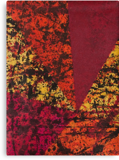 Corner Splatter # 7 by Dominic Taranto