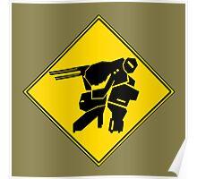 Bipedal Walking Tank X-ing Poster