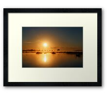 Comes The Sun Framed Print