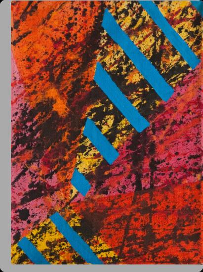 Corner Splatter # 8 by DomaDART