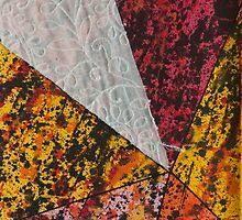 Corner Splatter # 13 by DomaDART