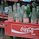 Old Thai Coke bottles by wittieb