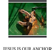 Jesus is our Anchor by Karo / Caroline Evans (Caux-Evans)