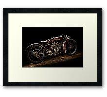 Indian Powerplus Clubman Racer Framed Print