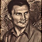 Jack Palance by © Kira Bodensted