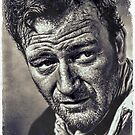 John Wayne by © Kira Bodensted