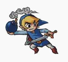 Blue toon link Kids Clothes