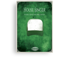 House of Singer Canvas Print