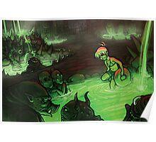 Monster Hotspring Poster